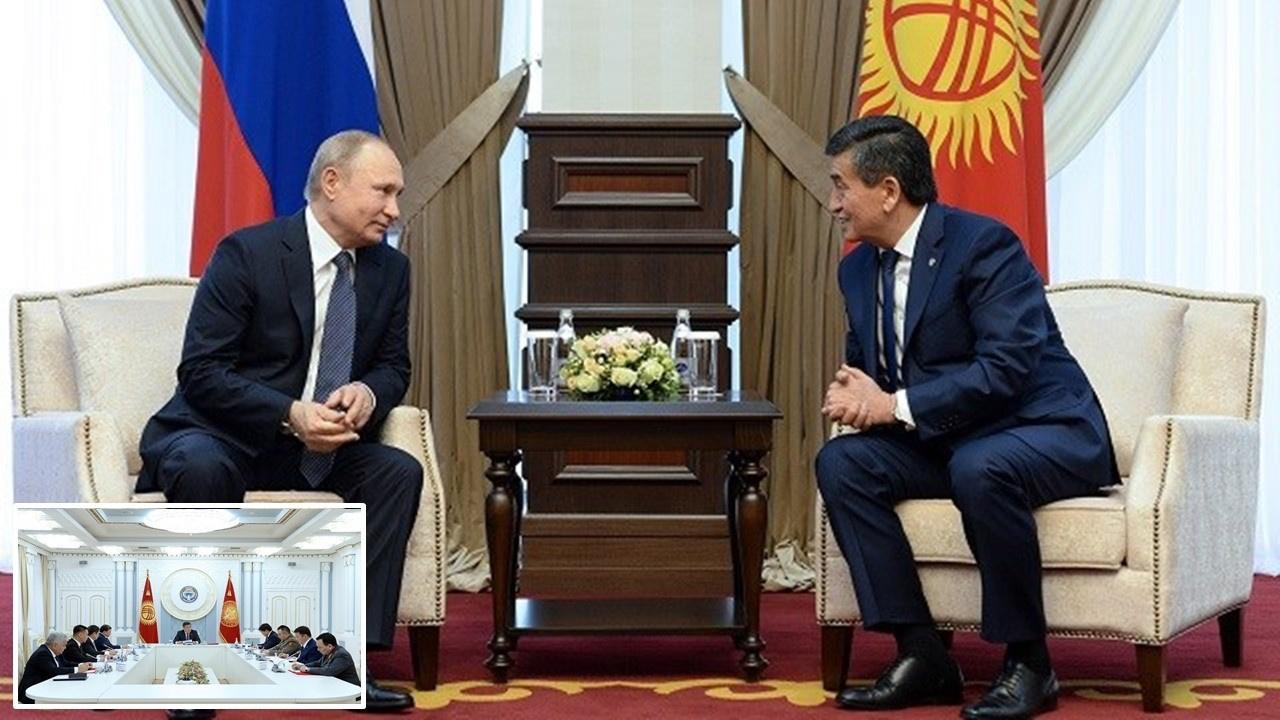 Rusya'da Kırgızistan heyetinde koronaya rastlandı