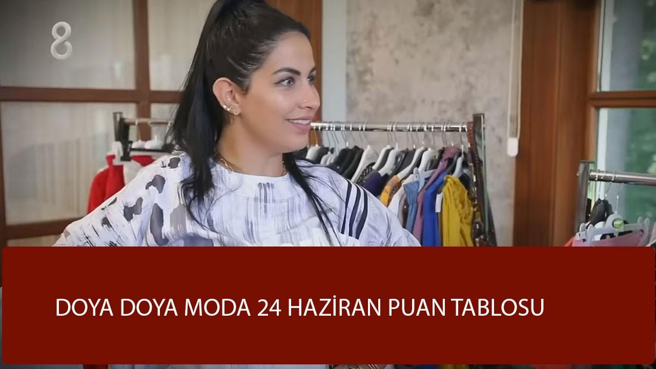 Doya Doya Moda 26 Haziran puan durumu, kim birinci oldu, kim elendi?