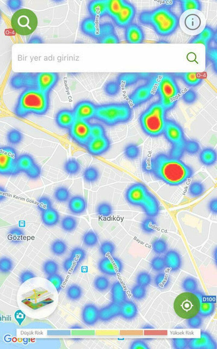 İstanbul'un koronavirüs yoğunluk haritası - Sayfa 4
