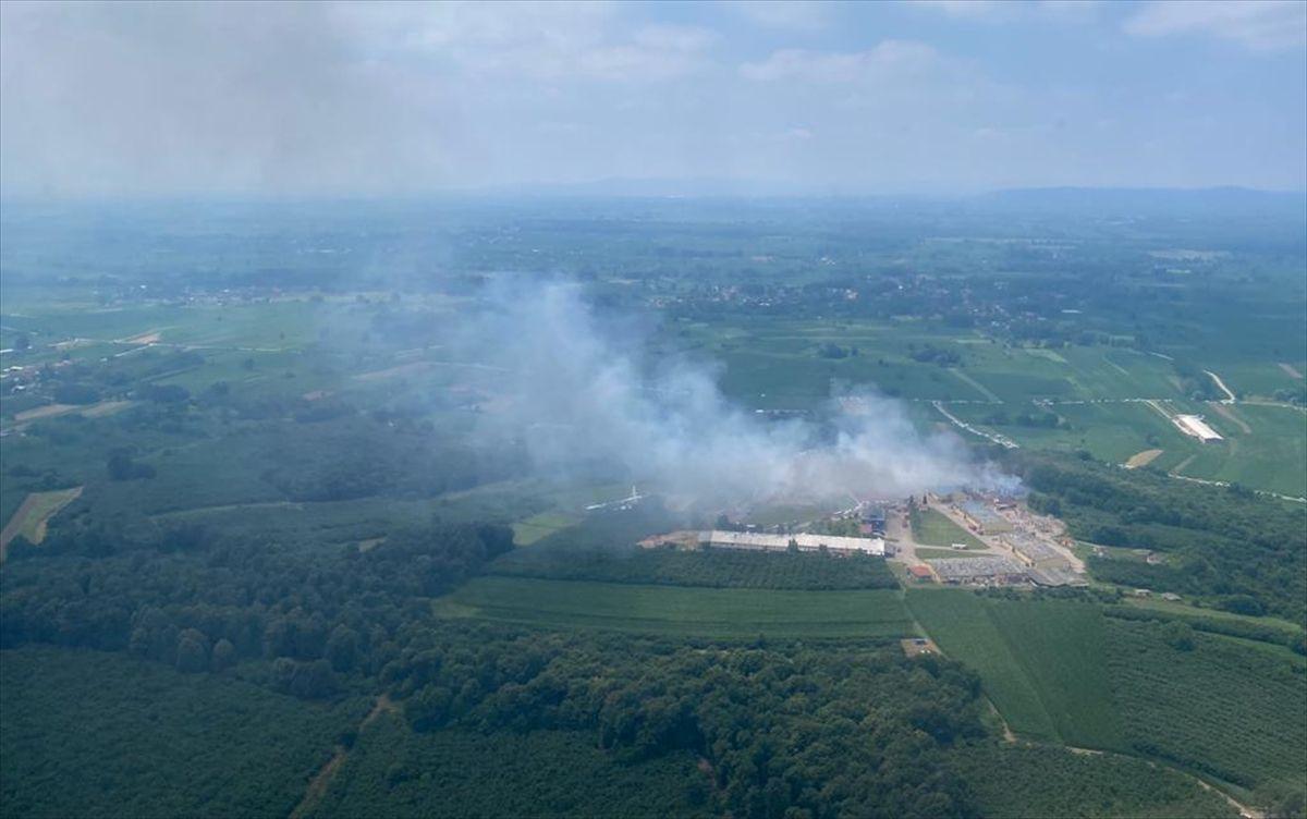 Havai fişek fabrikasındaki patlamadan görüntüler - Sayfa 1
