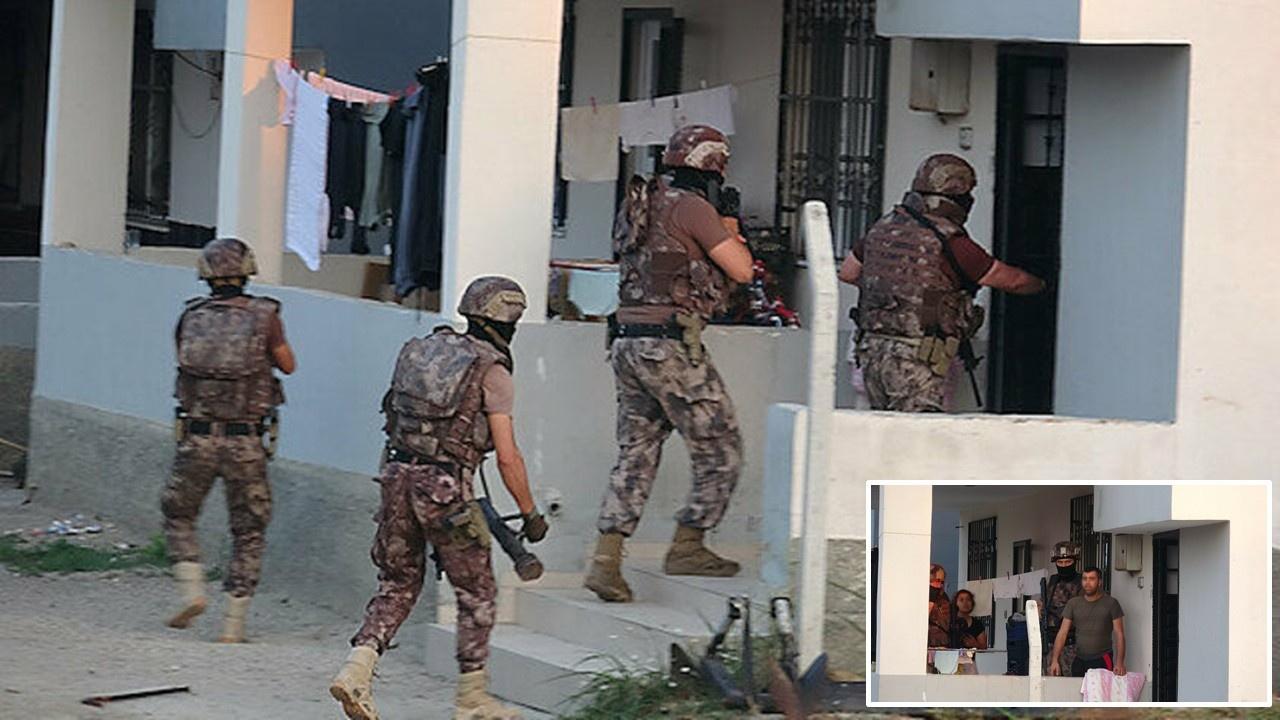 Vatandaşın arazisini zorla alan çeteye operasyon