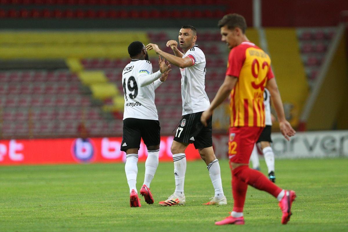 Düşme hattındaki Kayseri, Beşiktaş'ı devirdi - Sayfa 1