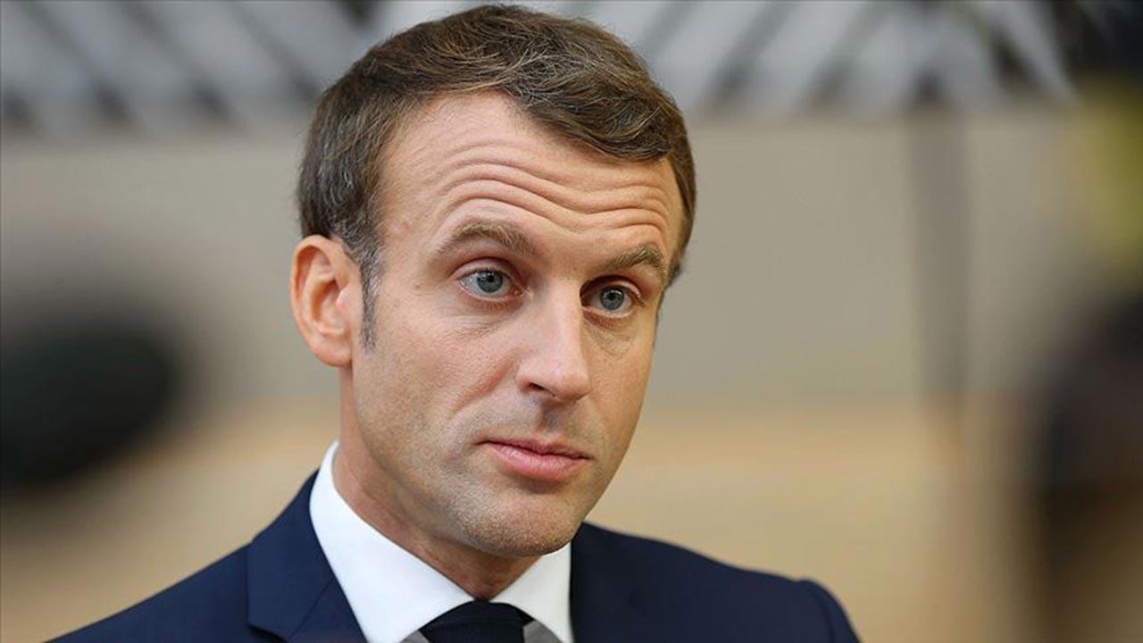 Macron: Fransa'da dine hakaret özgürlüğü var