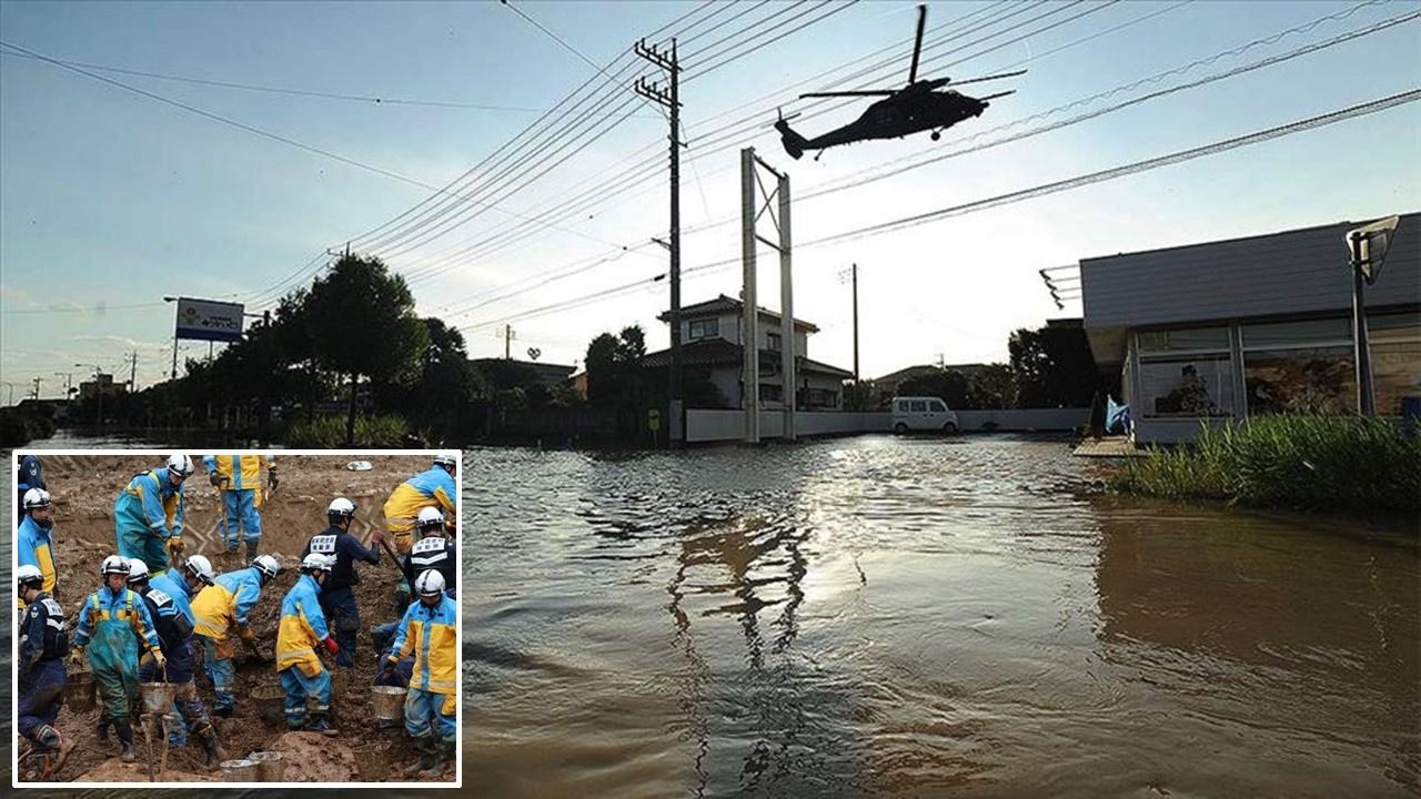 Japonya'daki sel ve heyelanlarda 63 kişi öldü