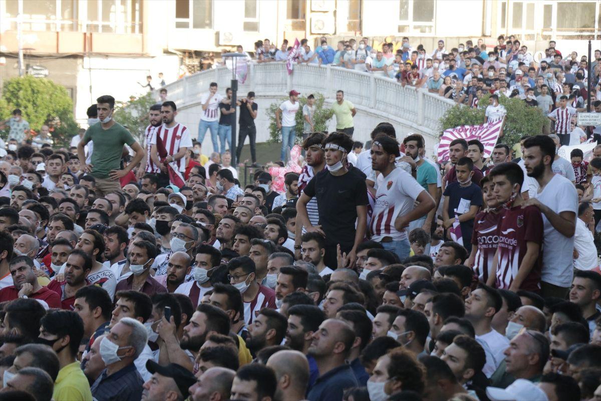 Hatayspor Süper Lig'de, şampiyonluk kutlanıyor! - Sayfa 1