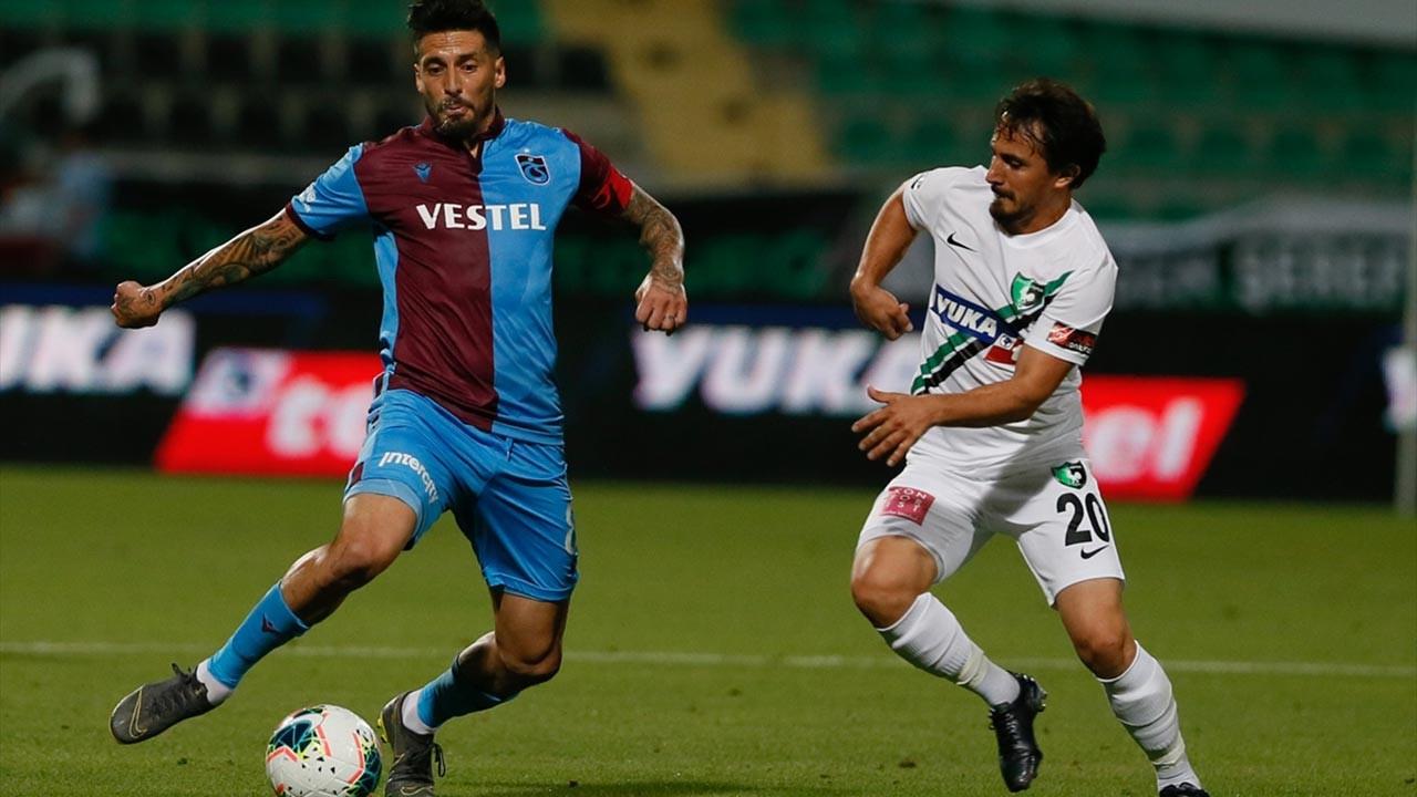 Trabzonspor eline düşen fırsatı değerlendiremedi