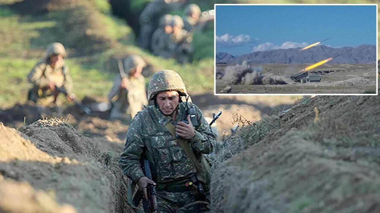 Ermenistan-Azerbaycan sınırında çatışma alevlendi