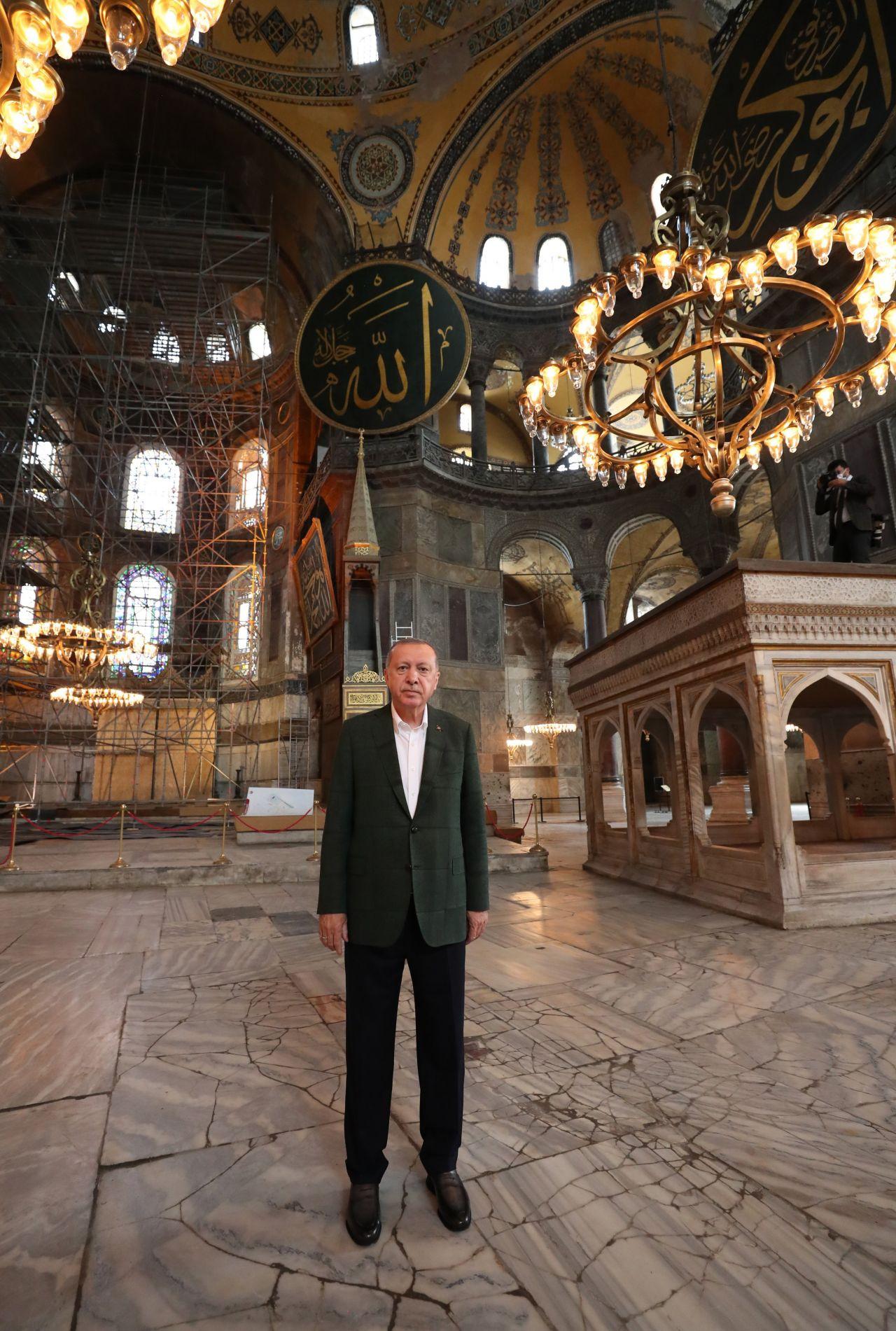 Cumhurbaşkanı Erdoğan Ayasofya Camii'nde - Sayfa 4