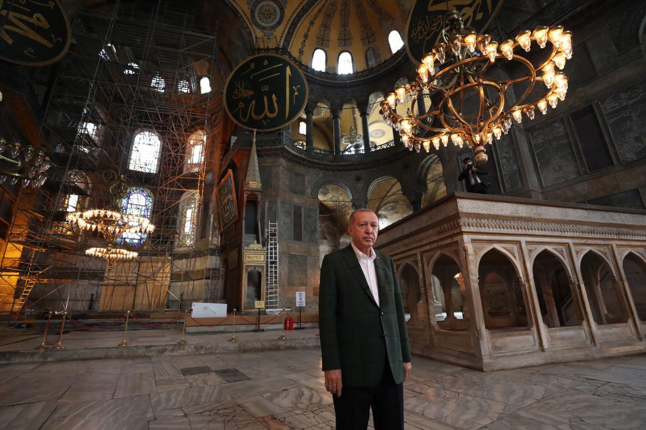Cumhurbaşkanı Erdoğan Ayasofya Camii'nde - Sayfa 2