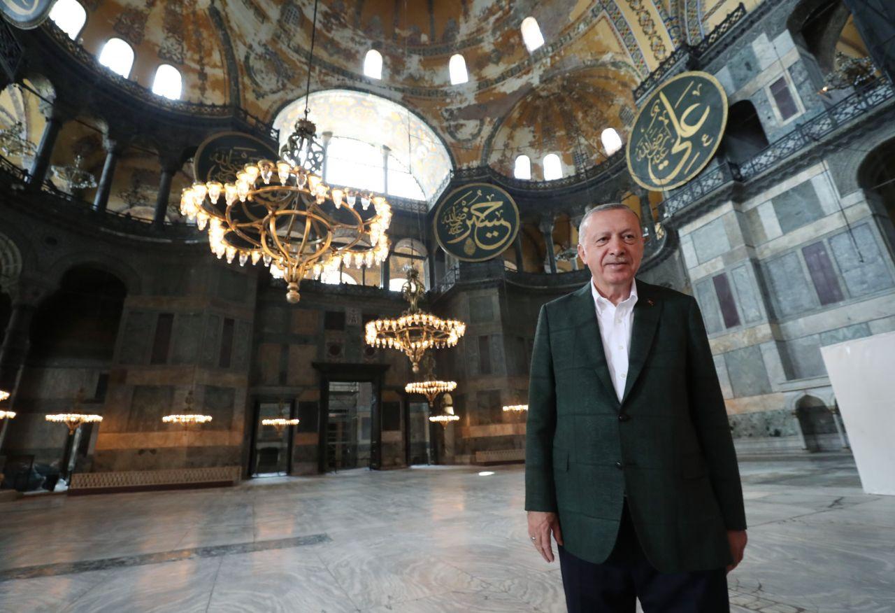 Cumhurbaşkanı Erdoğan Ayasofya Camii'nde - Sayfa 3