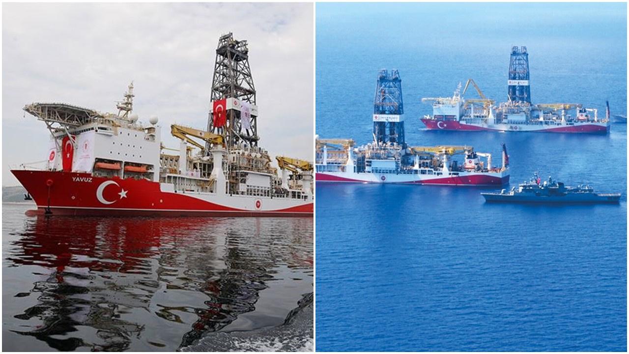 Fatih gemisi Karadeniz'deki ilk sondajına başladı