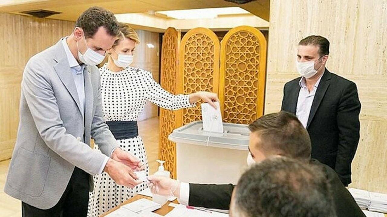 Esed oy kullanmak için bile sarayından çıkmadı