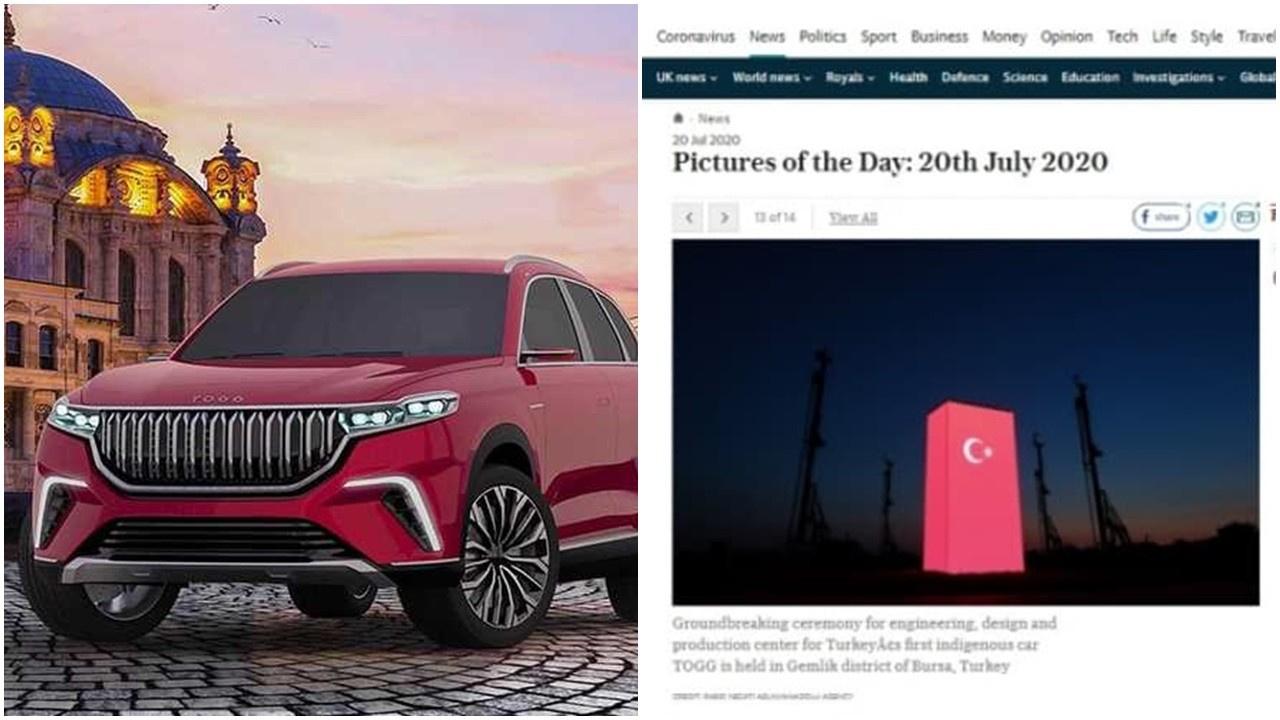 Türkiye'nin otomobili İngiliz basınında