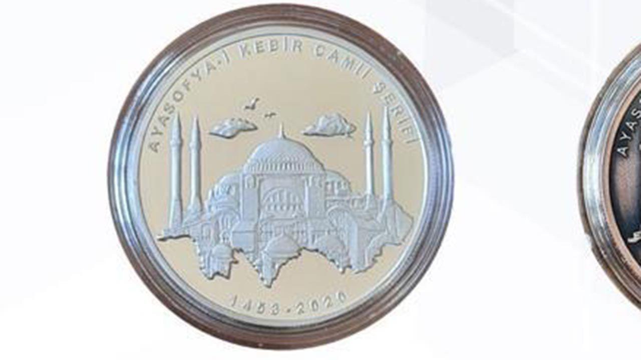 Ayasofya-i Kebir Camii hatırası para - Sayfa 1