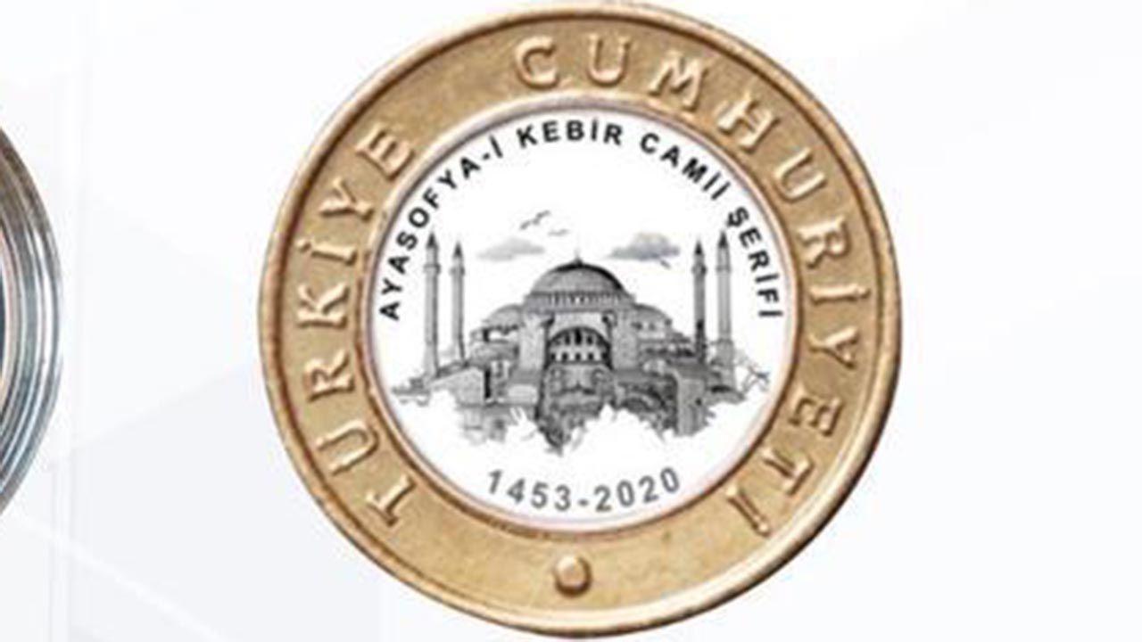 Ayasofya-i Kebir Camii hatırası para - Sayfa 3
