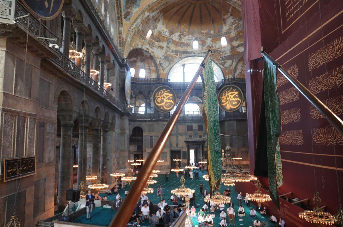 Cemaatli Ayasofya Camii'nden ilk kareler - Sayfa 2