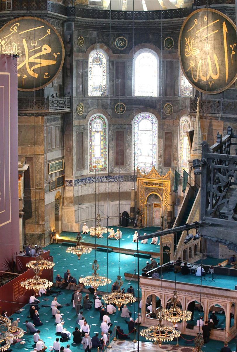 Cemaatli Ayasofya Camii'nden ilk kareler - Sayfa 3