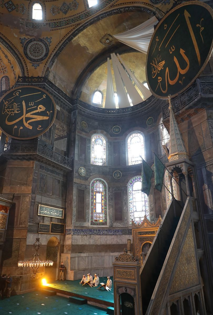 Cemaatli Ayasofya Camii'nden ilk kareler - Sayfa 4