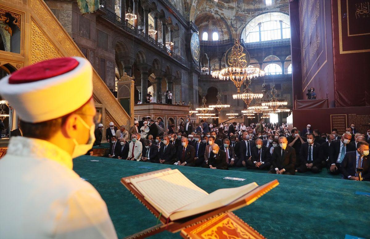 Ayasofya Camii'nde tarihi günden tarihi kareler - Sayfa 1