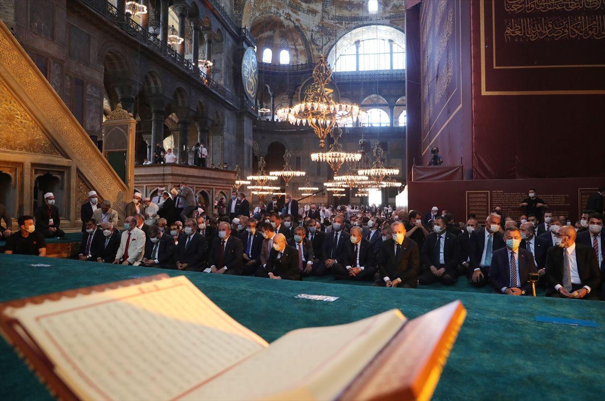 Ayasofya Camii'nde tarihi günden tarihi kareler - Sayfa 2