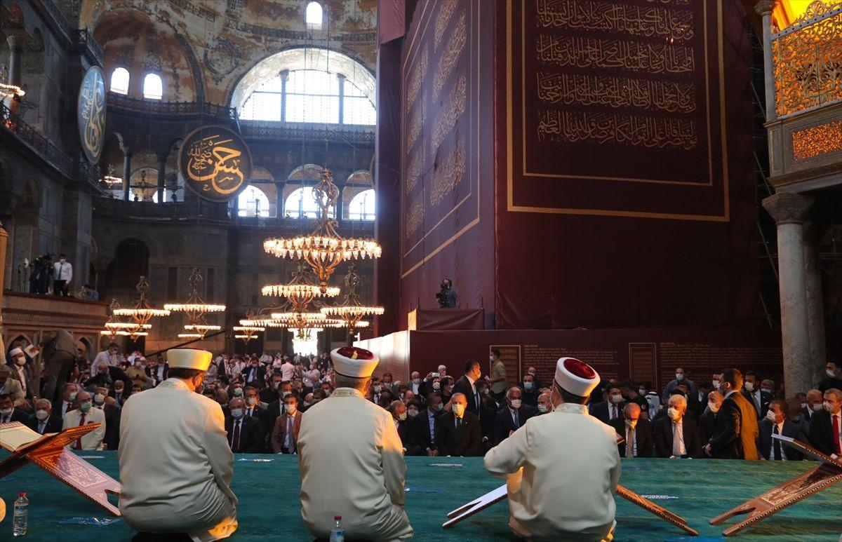 Ayasofya Camii'nde tarihi günden tarihi kareler - Sayfa 3