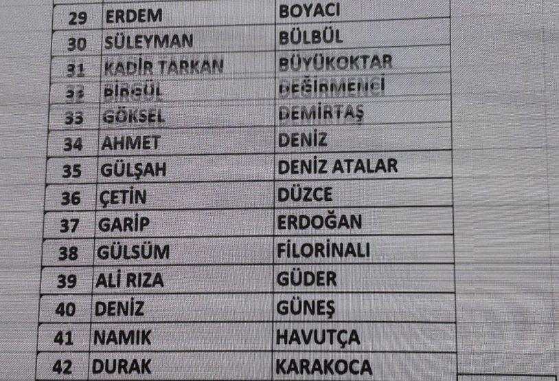 CHP Parti Meclisi PM üyesi aday listesi tam liste - Sayfa 1