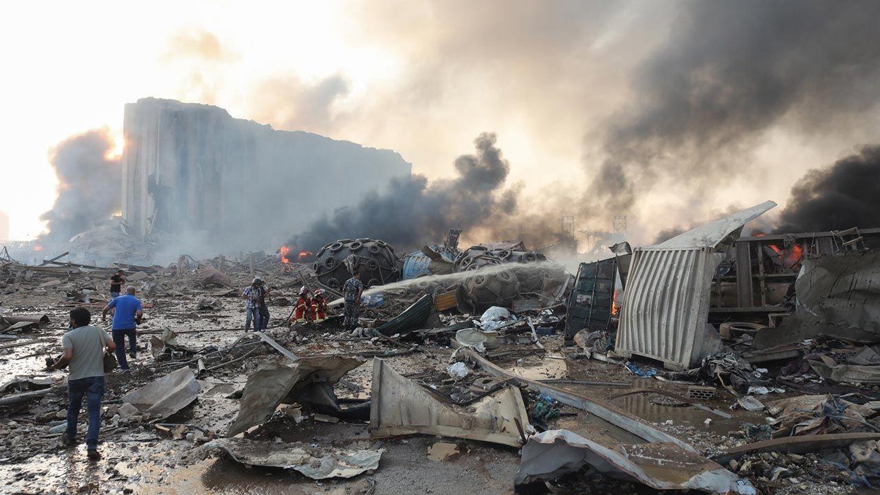 Beyrut'taki patlama şehri savaş alanına çevirdi - Sayfa 3