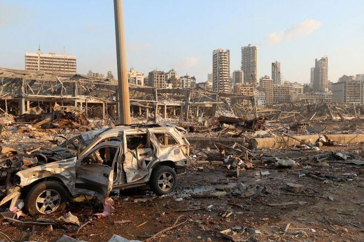 Beyrut'ta gün ağarınca enkaz ortaya çıktı - Sayfa 3