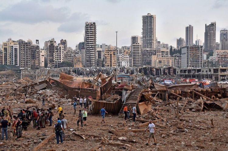 Beyrut'ta gün ağarınca enkaz ortaya çıktı - Sayfa 4