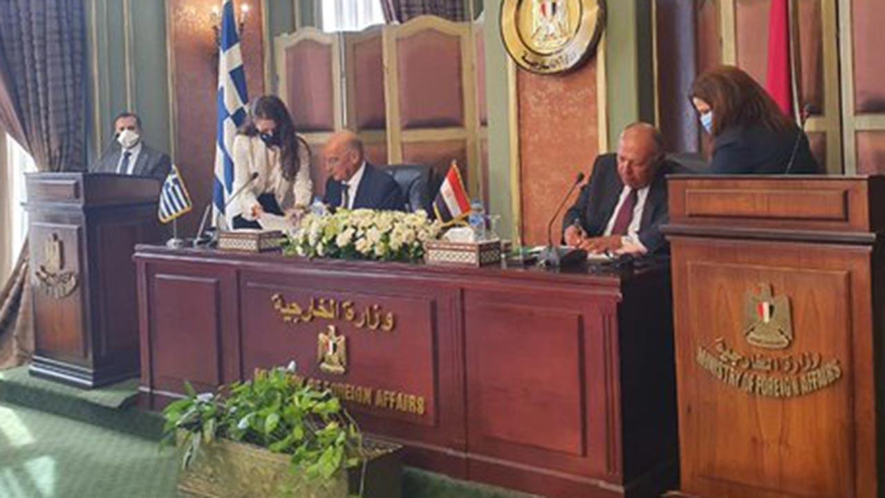 Mısır ve Yunanistan'ın Akdeniz oyunu