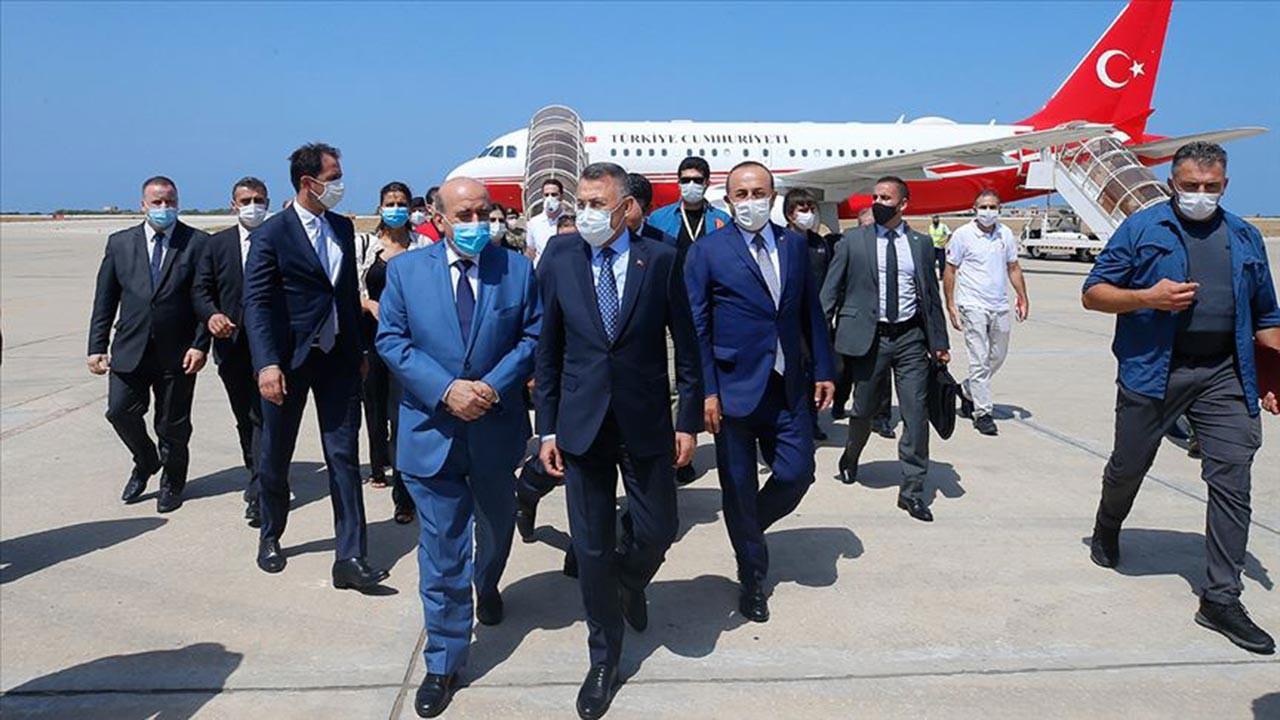 Cumhurbaşkanı Yardımcısı Oktay Lübnan'a geldi