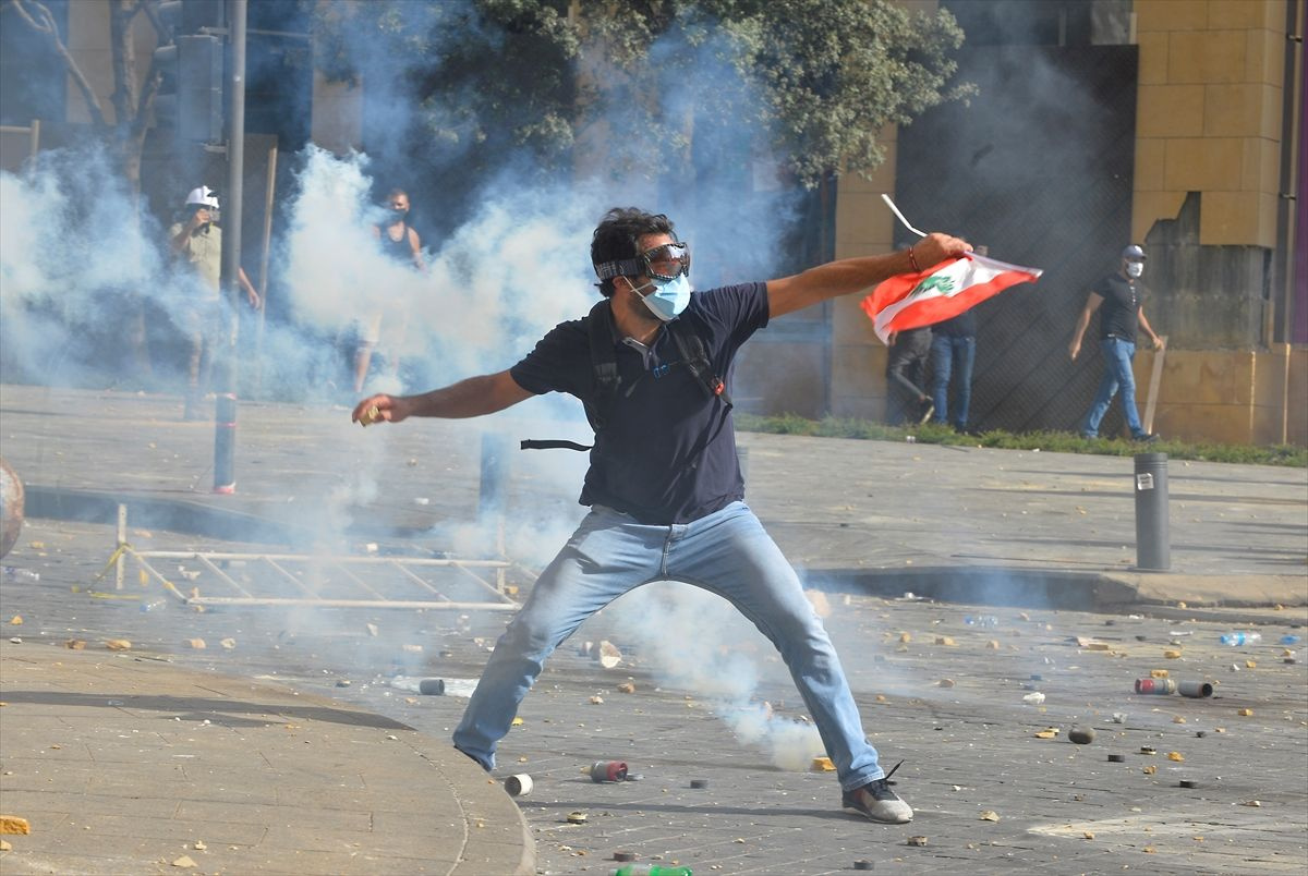 Lübnan'da protesto gösterilerinde kan aktı - Sayfa 2