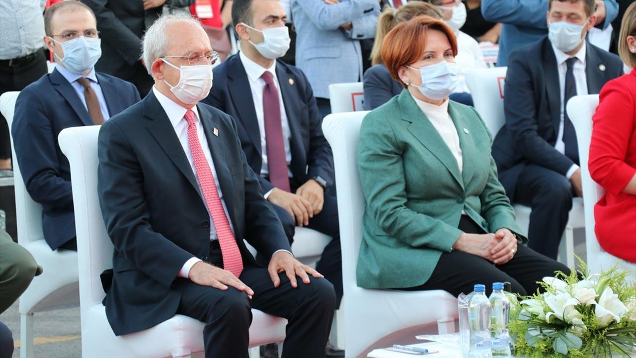 Kılıçdaroğlu ve Akşener, İnce'nin açıklama yaptığı gün birlikte açılışa katıldı