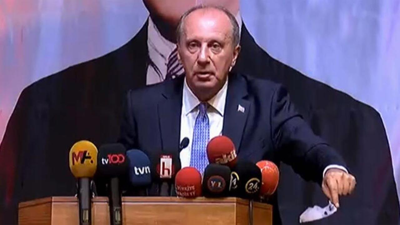 Muharrem İnce: 4 Eylül'de Sivas'tan başlıyoruz
