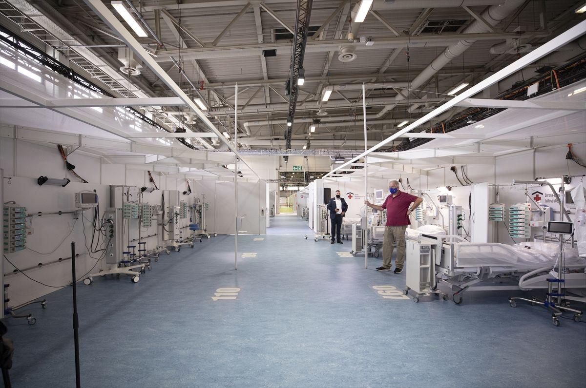 Almanya da sahra hastanesi yaptı, Türkiye'ninkinin yanında çadır gibi kaldı - Sayfa 4