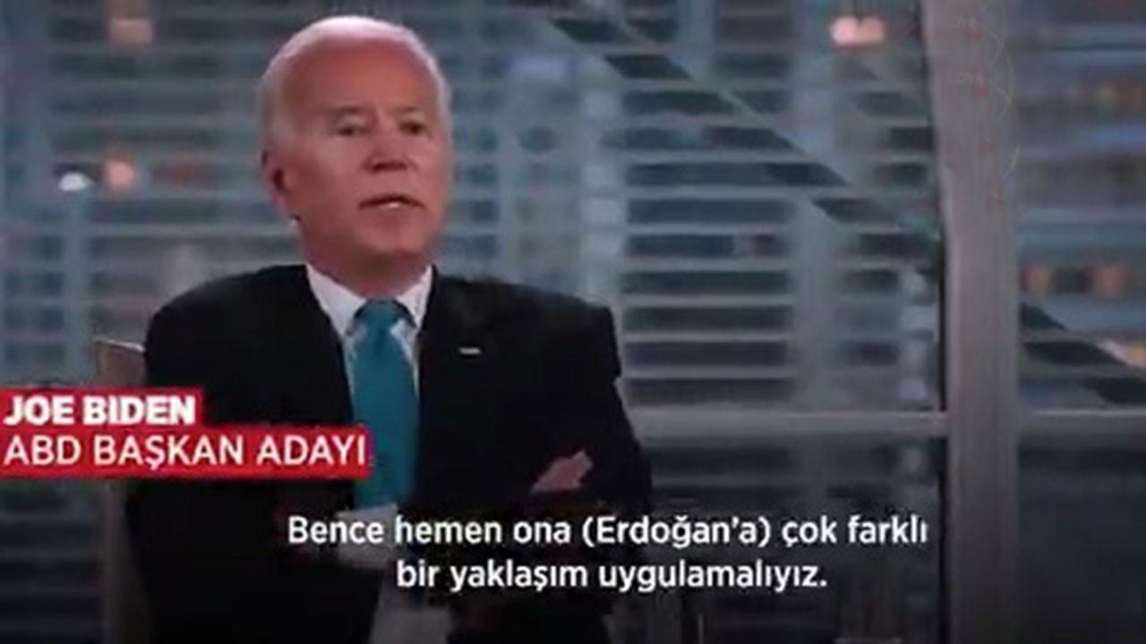 Joe Biden: Erdoğan'a bedel ödetmeliyiz, muhalefete doğrudan destek vermeliyiz