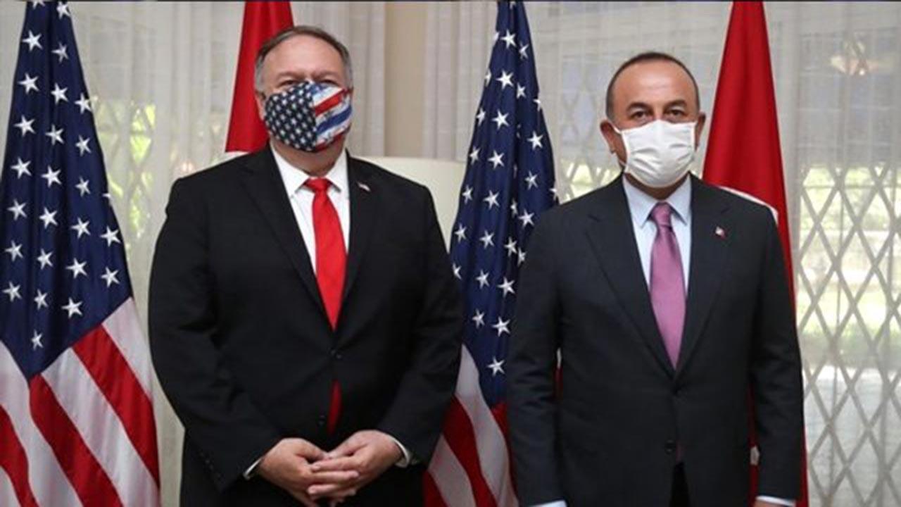Çavuşoğlu, ABD'li mevkidaşı ile bir araya geldi