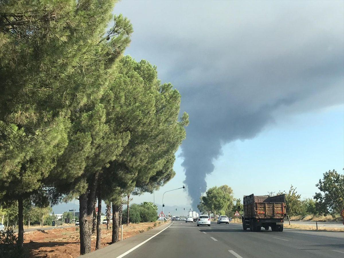 Antalya güne yangınla uyandı - Sayfa 3