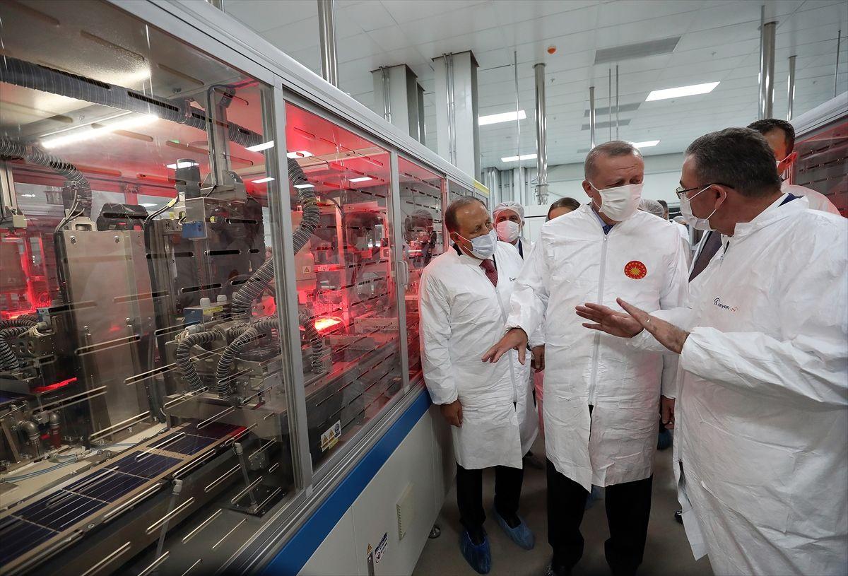 Türkiye'nin ilk yerli güneş paneli fabrikası açıldı - Sayfa 3