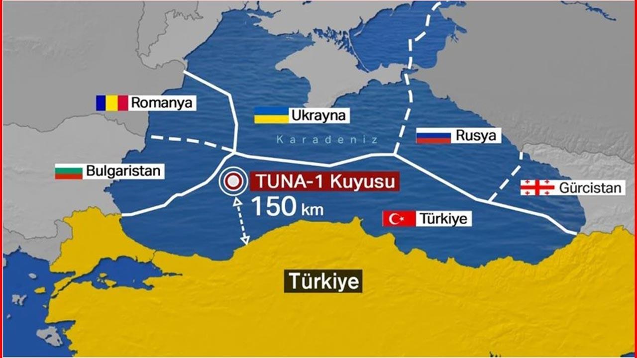 Karadeniz'de bulunan doğalgazın parasal değeri ne?
