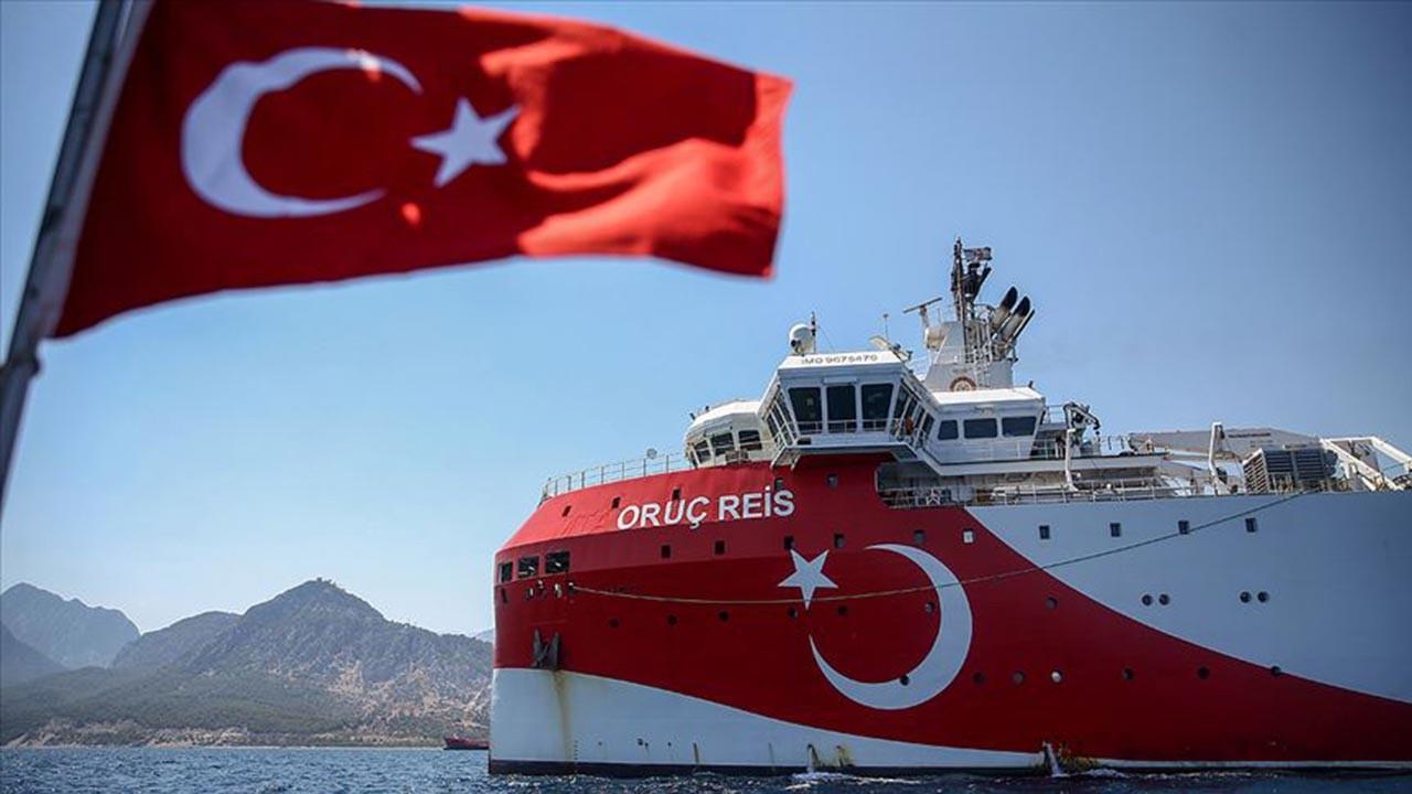 Oruç Reis'i hedef alan ABD'ye Türkiye'den tepki