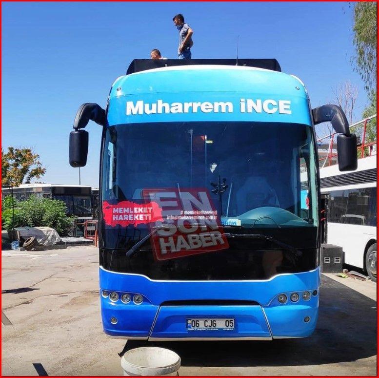 Muharrem İnce'nin otobüsü ilk kez görüntülendi - Sayfa 4
