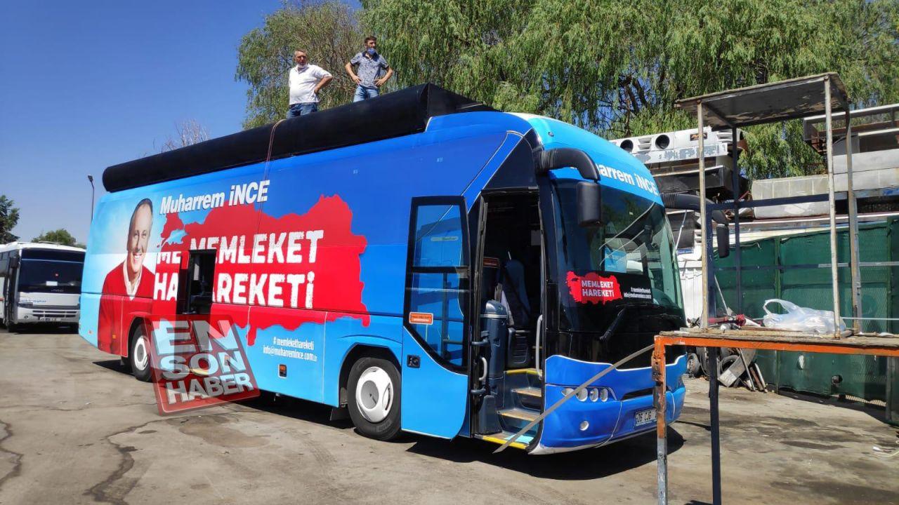 Muharrem İnce'nin otobüsü ilk kez görüntülendi - Sayfa 3