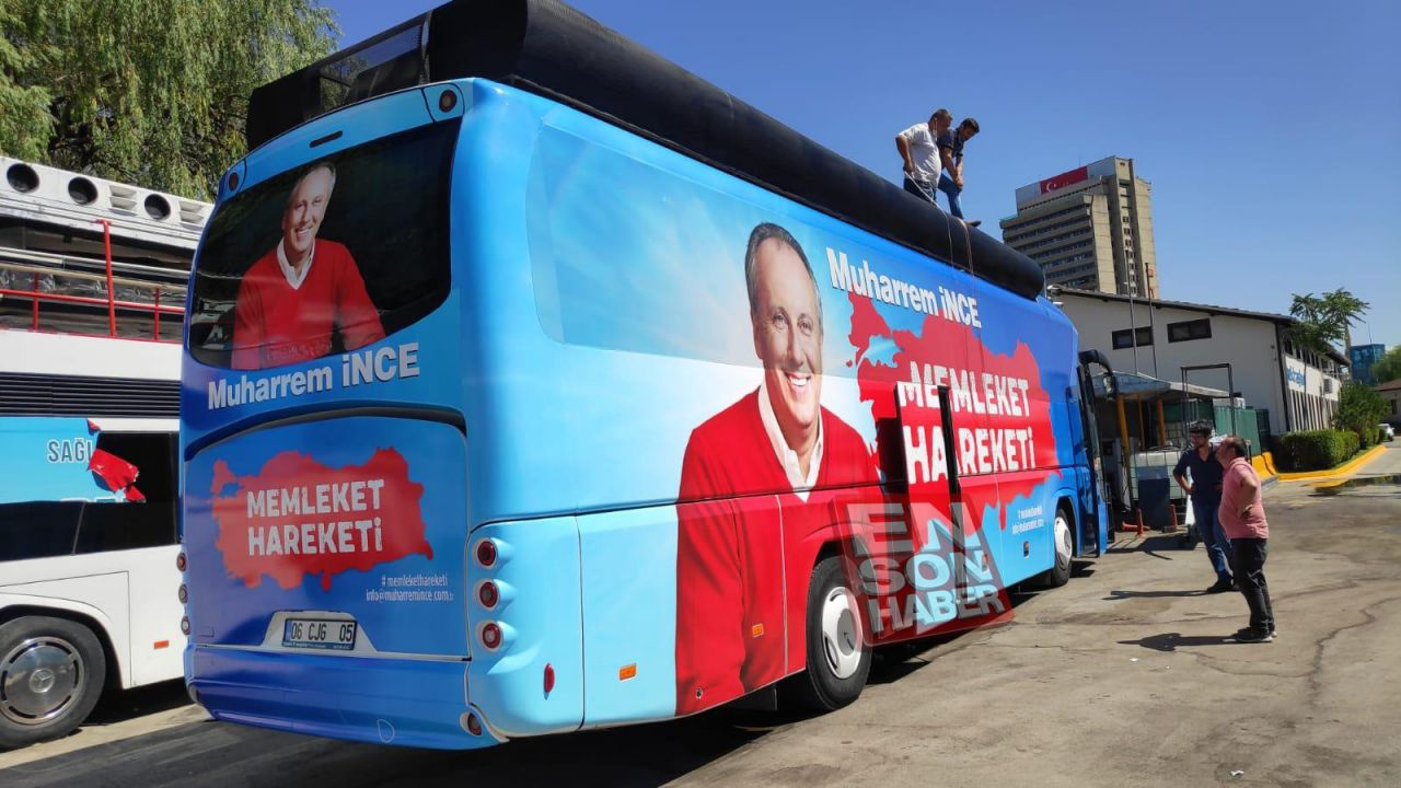 Muharrem İnce'nin otobüsü ilk kez görüntülendi - Sayfa 2