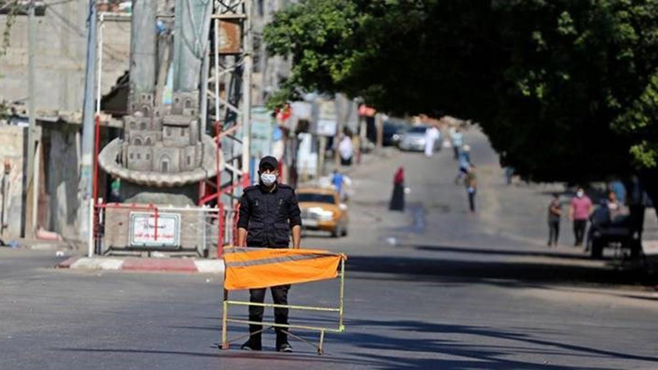 Gazze'de koronayla mücadele kararları