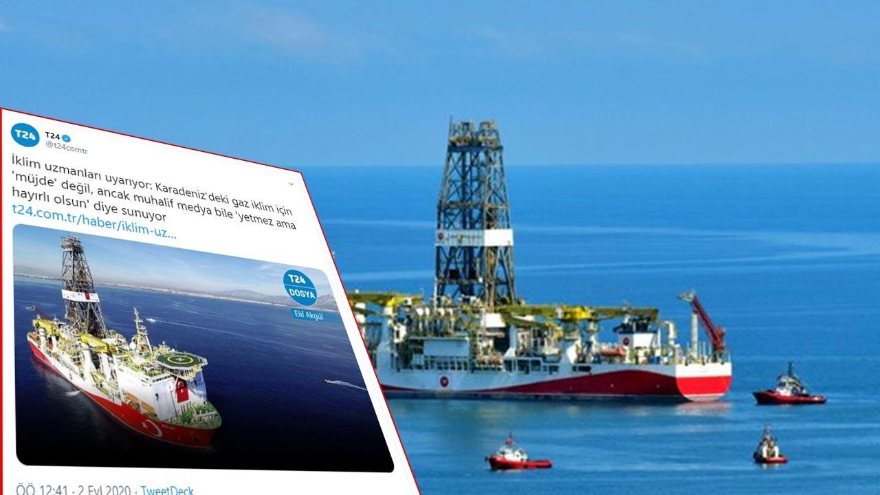 Batı destekli medya: Karadeniz doğalgazını çıkarmak iklime zararlı
