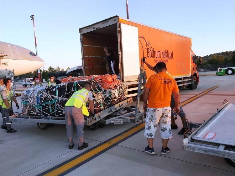Katar Emiri 2 kamyon eşya ve 500 bavulla Bodrum'da - Sayfa 3