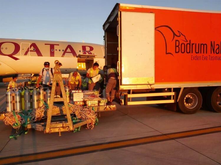 Katar Emiri 2 kamyon eşya ve 500 bavulla Bodrum'da - Sayfa 4