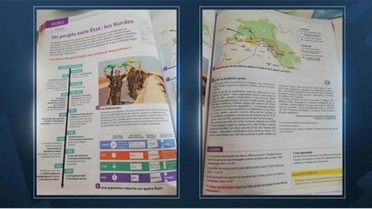 Fransa'da lise tarih kitabında PKK propagandası