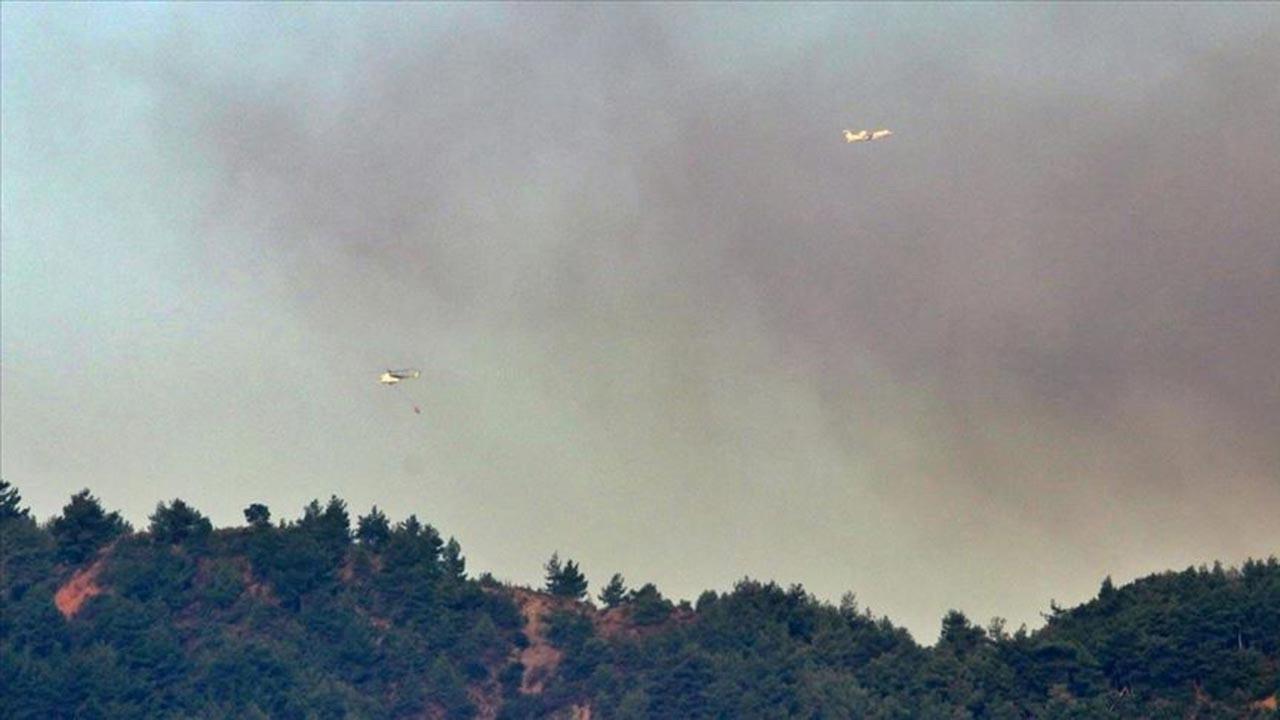 Hatay'daki orman yangını günlerdir söndürülemiyor